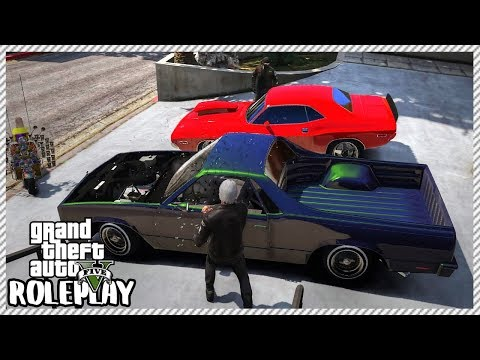GTA 5 Roleplay - Stealing Two Muscle Cars | RedlineRP #146