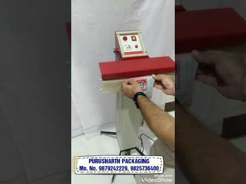 Foot Operated Heat Impulse Sealer