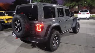 REVIEWING THE ALL NEW 2020 JEEP WRANGLER JL 4 DOOR UNLIMITED RUBICON STING GRAY LED