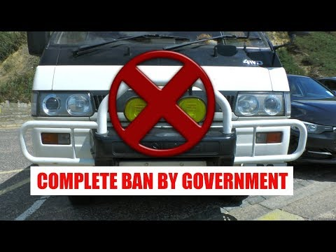 Why Bull Bar or Crash Guard Banned by Indian Government