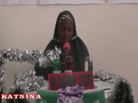 2014 Nigerian Musabaka: Nasarawa State 60 Hizb Female Participant