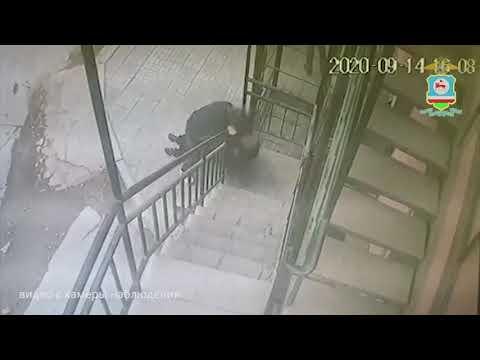 Камеры наблюдения засняли ограбление в Якутске