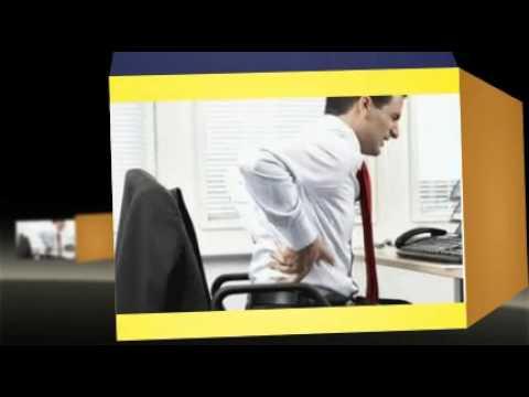 Massaggio corretto di reparto cervicale di una spina dorsale