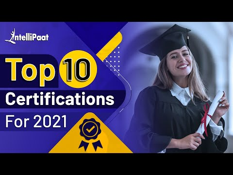 Top 10 Certifications For 2021 | Highest Paying IT Certifications | IT ...