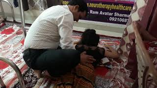 Full Back pain treatment by Ram Avatar Sharma Neurotherapy Expert, Quick relief in back pain by Ram
