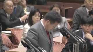H24/03/14参院予算委員会・世耕弘成東日本大震災追悼式台湾無視問題