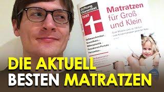 Stiftung Warentest Matratzentest: die Testsieger 10/2018