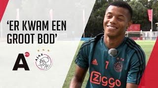 Neres kon twee keer vertrekken maar bleef bij Ajax