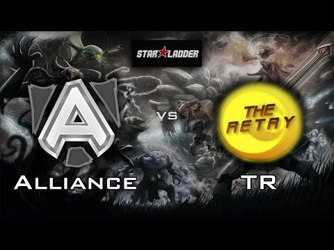 Alliance vs TheRetry Teamwipe   Starladder S8