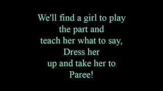 A rumor in St. Petersburg - lyrics
