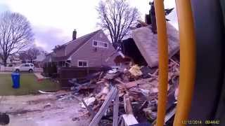 12 inbrook x4  fire damage house   demo demolition house tear down J&M