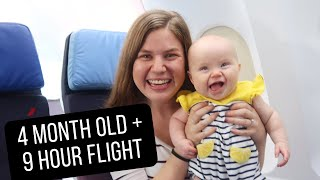 Texas to Venice: Flying Internationally with a 4 Month Old Baby 🇮🇹Italy Ep. 1
