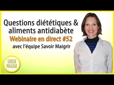 Repas à linsuline du diabète de type 2