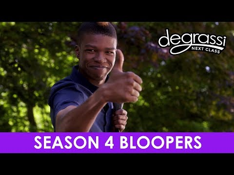 Season 4 Bloopers - Degrassi: Next Class