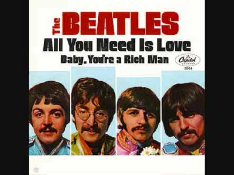 All You Need Is Love performed by The Beatles