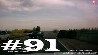 Смотреть онлайн Подборка аварий и ДТП за май 2014