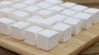 How To Make Homemade Marshmallows | Homemade Marshmallows Recipe