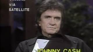 Johnny Cash talks about his drug use, his father