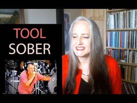 Voice Teacher Reaction to Tool - Sober LIVE 1993