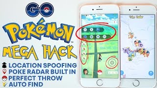 Pokemon GO MEGA Hack! Pokemon Radar, Auto Find, Perfect Throw & More!