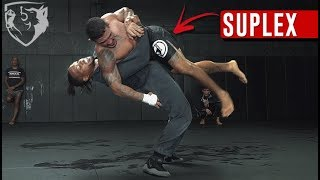 How to Suplex: Instruction & Heavybag Drills