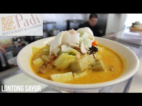Video KabariNews - Sajian Vegetarian Lontong Sayur ala Restoran Padi.