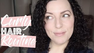 Everyday Curly Hair Routine - 3A Curls | Down To Earth Beauty | Fun | WavyKate