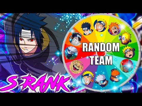 WHAT KIND OF LUCK IS THIS??! RANDOM TEAM GENERATOR ON S-RANK