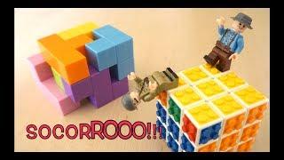 TETRIS + LEGO CUBE | Regalo IDEAL | Mejora tu VISIÓN ESPACIAL