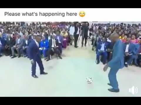 Pastor Kakande shows off miracle football skills amidst cheers
