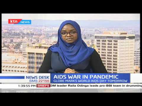 COVID-19 threatening gains in AIDS war as the globe is set to mark World AIDS day in December 1st