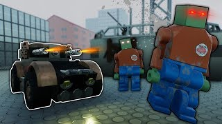 We Try To Find The Best ZOMBIE Fighting Vehicles! - Brick Rigs Multiplayer Lego Update Gameplay