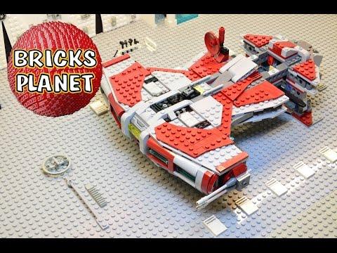Vidéo LEGO Star Wars 75025 : Corvette Jedi de classe Défenseur