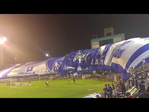 """""""Bajada del Telon de Alvarado vs Desamparados"""" Barra: La Brava • Club: Alvarado"""