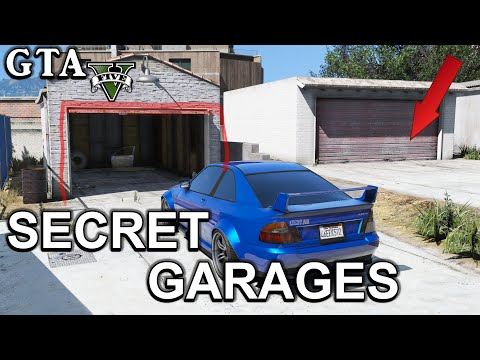 GTA V - Secret Garages Locations  - Offline - Online - PC - PS3 - PS4 - Xbox 360 - Xbox1