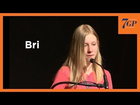 """""""Running Shoes"""" by Bri   2014 7GP 7th Grade Poetry Contest"""