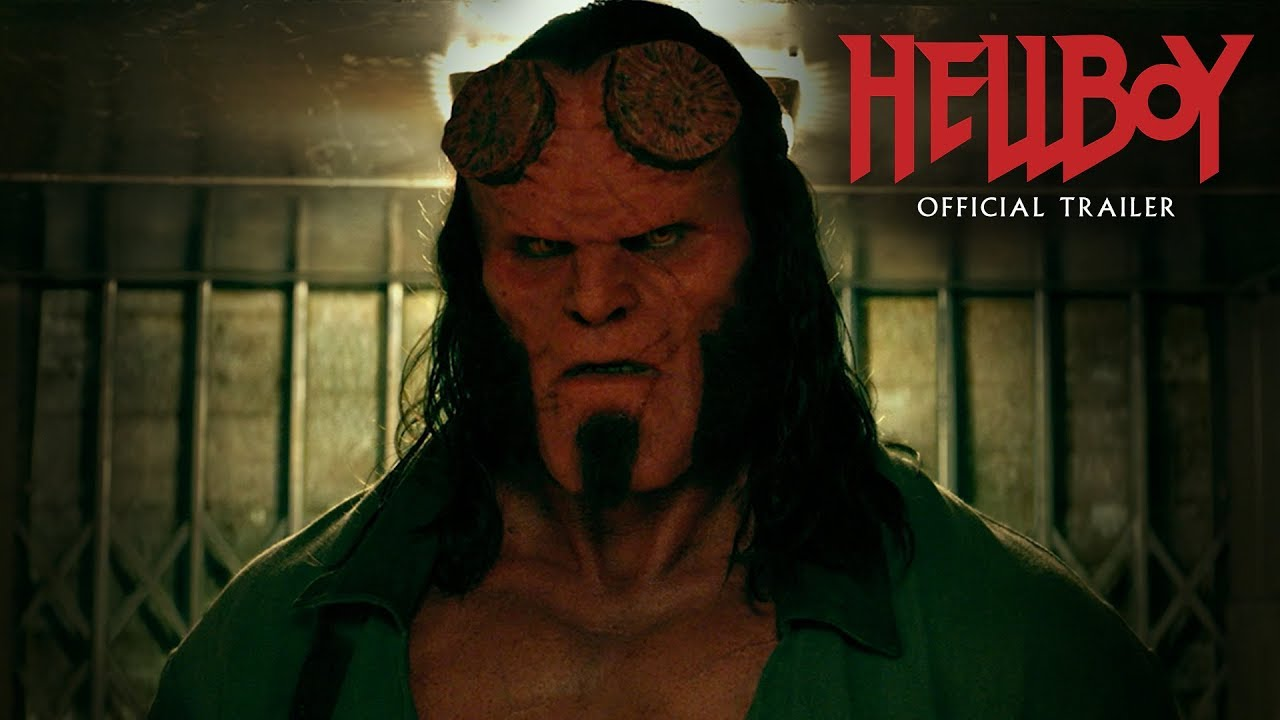 "Video trailer för Hellboy (2019 Movie) Official Trailer ""Smash Things"" – David Harbour, Milla Jovovich, Ian McShane"