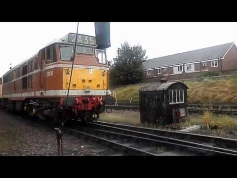 Diesel and steam traction in and around Derby in 2016