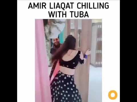 Amir liaqat & tuba couple goals💝