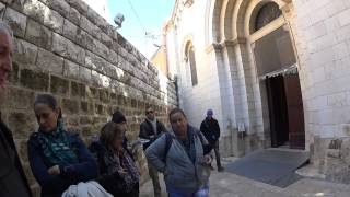 preview picture of video 'Prof' Eugenio Alliata, the Franciscan Custody: St Joseph's Church, Nazareth - the ancient evidence'