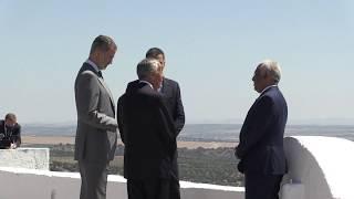Ceremonia de reapertura de fronteras España / Portugal. Elvas (Portugal)