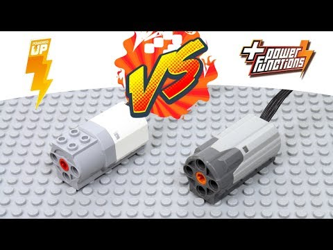 NEW LEGO Powered Up motor VS LEGO Power Functions motor
