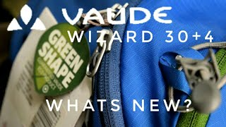 VAUDE Wizard 30+4 new model. what the changes? -(english )