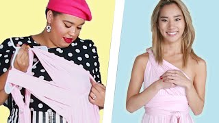 Women Try A One-Size-Fits-All Bridesmaid Dress