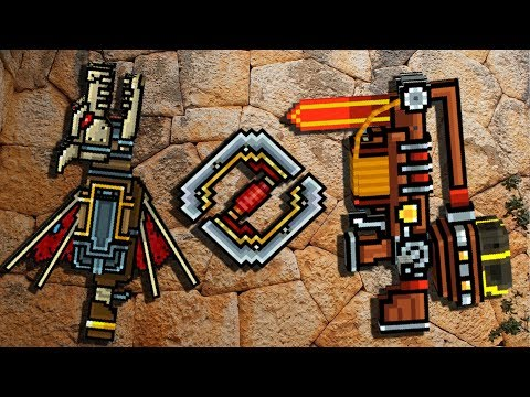 Gladiator Set - Pixel Gun 3D Gameplay