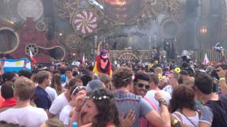 Above & Beyond | Liberate (Eric Prydz) | Tomorrowland 2014
