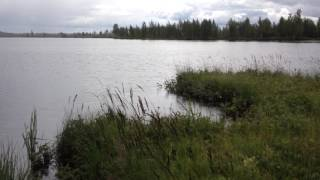 Рыбалка на озере воякоярви
