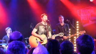 James Blunt - Blue on Blue (NEW SONG) - live Reeperbahn Festival Hamburg 2013