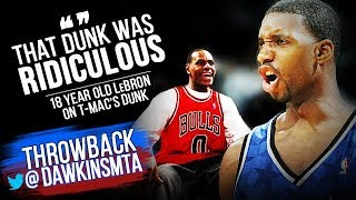 Tracy McGrady Drops 43 On Pistons As Young LeBron Gets HYPED | 2003 ECR1 G1 - ViCIOUS DUNK By T-Mac!