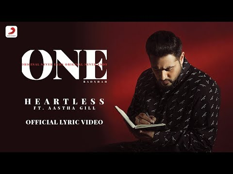 Heartless - Badshah Ft. Aastha Gill  | O.N.E. ALBUM | Lyrics Video Mp3